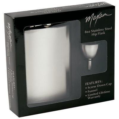 Hip Flask Gift Set with funnel